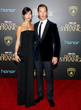 Benedict Cumberbatch and Sophie Hunter Royalty Free Stock Photography