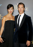 Benedict Cumberbatch and Sophie Hunter Royalty Free Stock Photos