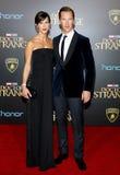 Benedict Cumberbatch y Sophie Hunter Foto de archivo libre de regalías