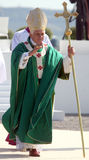 Benedict XVI à la masse Images libres de droits