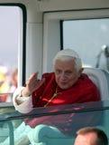 Benedict XVI binnen   stock foto