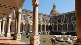Benedictine κήπος στοκ εικόνες με δικαίωμα ελεύθερης χρήσης