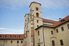 The Benedictine Abbey Royalty Free Stock Images