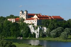 Benedictine Abbey Stock Photo