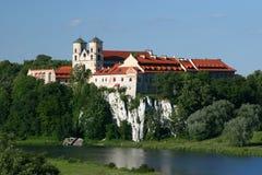 Benedictine Abbey stock photo