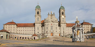 Benedictine abbey of Einsiedeln Royalty Free Stock Photo