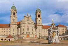 Benedictine abbey of Einsiedeln Stock Image