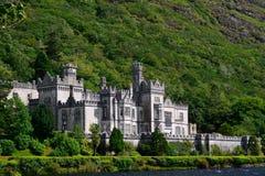 Benedictine abbey, Kylemore, Ireland Royalty Free Stock Image