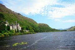 Benedictine abbey, Kylemore, Ireland Stock Image