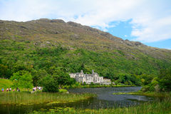 Benedictine abbey, Kylemore, Ireland Stock Photography