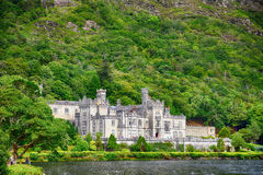 Benedictine abbey, Kylemore, Ireland Royalty Free Stock Photos