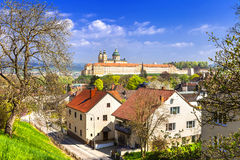 Benedictine abbey in Melk, Austria Stock Photo