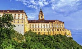 Benedictine abbey, Melk, Austria Stock Photos