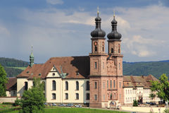 Benedictine Abbey of St. Peter in Germany Royalty Free Stock Images