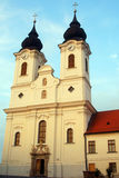 Benedictine abbey, Tihany, Hungary Royalty Free Stock Image