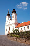 Benedictine abbey in Tihany, Hungary Stock Photo