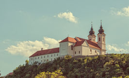 Benedictine abbey in Tihany Stock Photo