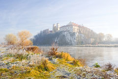 Benedictine abbey in Tyniec, Cracow. Famous Polish landmark Royalty Free Stock Photo