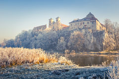 Benedictine abbey in Tyniec Stock Images