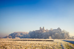 Benedictine abbey in Tyniec Royalty Free Stock Images