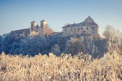Benedictine abbey in Tyniec Stock Image