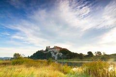 Benedictine abbey in Tyniec Stock Photography