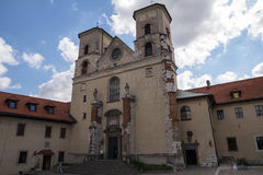 The Benedictine Abbey in Tyniec (Poland). The Benedictine Abbey in Tyniec in Poland Stock Photos