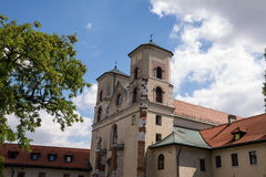 The Benedictine Abbey in Tyniec (Poland). The Benedictine Abbey in Tyniec in Poland Royalty Free Stock Photos