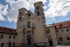 The Benedictine Abbey in Tyniec (Poland). The Benedictine Abbey in Tyniec in Poland Stock Images