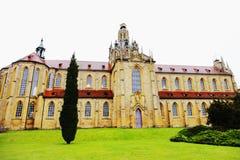 Benedictine Kladrubitsky μοναστήρι Στοκ φωτογραφία με δικαίωμα ελεύθερης χρήσης