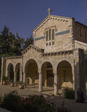 The Benedictine monastery in Abu Ghosh,built by the Crusaders in Stock Photos