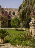 The Benedictine monastery in Abu Ghosh,built by the Crusaders in Royalty Free Stock Photos
