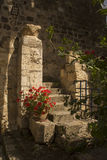 The Benedictine monastery in Abu Ghosh,built by the Crusaders Stock Images