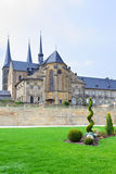 Benedictine monastery in Bamberg Stock Image