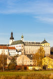 Benedictine monastery in Broumov Royalty Free Stock Images