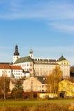 Benedictine monastery in Broumov. Czech Republic Royalty Free Stock Images
