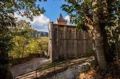 Monastery of Holy Cristina. Benedictine monastery of Holy Cristina de Ribas de Sil Royalty Free Stock Photos