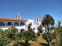 Benedictine Monastery of the Holy Trinity - Gran Canaria stock images