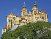 the Benedictine monastery Melk Royalty Free Stock Photography