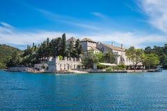 Benedictine monastery at Mljet park, Croatia