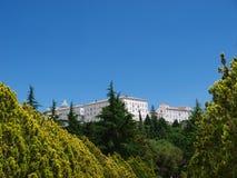 Benedictine monastery, Monte Cassino, Italy Stock Photos