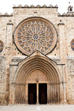 Benedictine monastery in Sant Cugat Royalty Free Stock Images