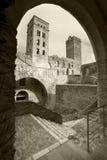 Benedictine monastery of Sant Pere de Rodes. Girona Royalty Free Stock Image