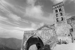 Benedictine monastery of Sant Pere de Rodes. Girona Stock Photo
