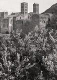 Benedictine monastery of Sant Pere de Rodes. Girona. Spain Royalty Free Stock Photography
