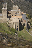 Benedictine monastery of Sant Pere de Rodes. Girona Royalty Free Stock Photos