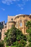 Benedictine monastery, the spiritual symbol and religious center Stock Photos
