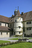 Benedictine, monastery St. Maria and Markus at the Reichenau Isl Stock Images