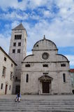 Benedictine Monastery of St. Mary in Zadar royalty free stock images