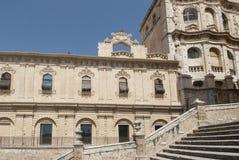 Benedictine monastery of st. Saviour noto syracuse sicily Italy europe Royalty Free Stock Images